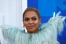 Beyoncé chega para MTV Video Music Awards em Nova York. 28/8/2016.  REUTERS/Eduardo Munoz