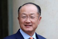 World Bank President Jim Yong Kim arrives at the Elysee Palace in Paris, France, August 29, 2016. REUTERS/Charles Platiau