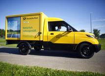 Le groupe postal et de logistique allemand Deutsche Post a racheté en numéraire son concurrent UK Mail Group, qui valorise ce dernier à 243 millions de livres (282,33 millions d'euros). /Photo prise le 23 août 2016/REUTERS/Thilo Schmuelgen