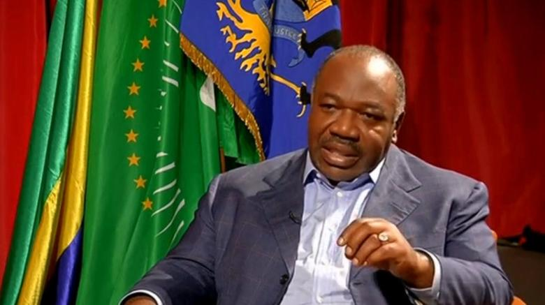 A still image from video shows Gabon President Ali Bongo being interviewed in Libreville, Gabon, September 24, 2016. REUTERS/Reuters TV