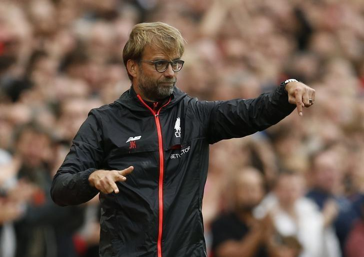 Britain Football Soccer - Liverpool v Hull City - Premier League - Anfield - 24/9/16Liverpool manager Juergen Klopp Action Images via Reuters / Andrew BoyersLivepic