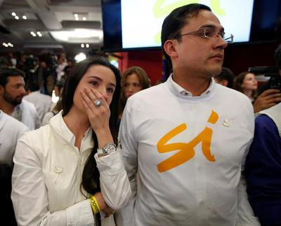 Colombians reject FARC peace deal