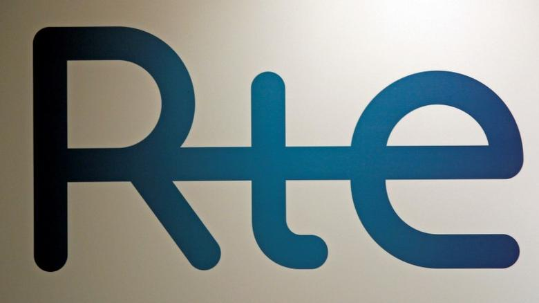 The logo of the French power grid RTE (Electricity Transport Network) is seen in Marseille, February 8, 2012.  REUTERS/Jean-Paul Pelissier