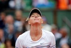 Ex-número um do mundo no tênis Maria Sharapova.   29/05/2015          REUTERS/Jean-Paul Pelissier/File Photo