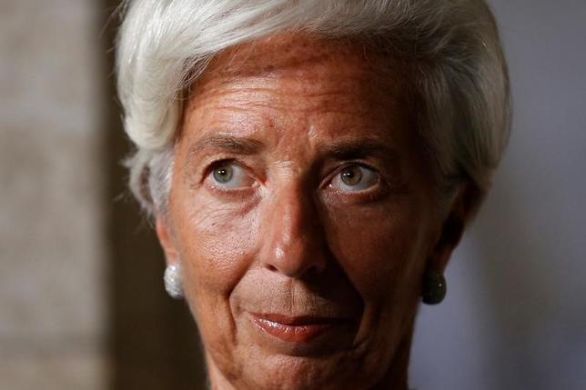 10月4日、IMFは世界経済見通しを公表した。写真はラガルド専務理事。オタワで9月撮影(2016年 ロイター/Chris Wattie)