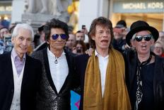 Membros dos Rolling Stones em Londres. 04/04/2016 REUTERS/Luke MacGregor