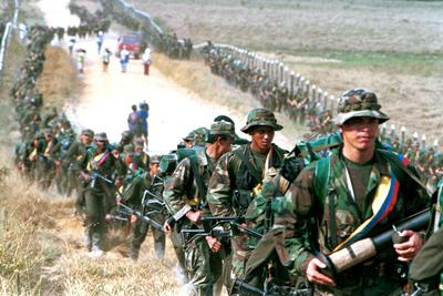 Colombia's  long war with the FARC