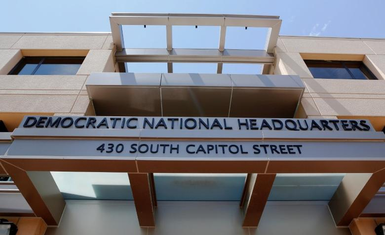 The headquarters of the Democratic National Committee is seen in Washington, U.S. June 14, 2016. REUTERS/Gary Cameron