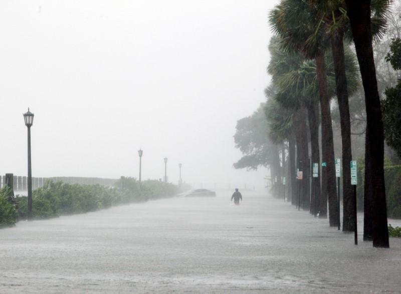 Weakened Hurricane Matthew still deadly as it buffets U S