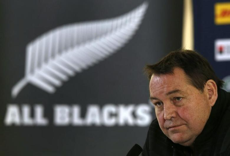 Rugby Union - New Zealand Press Conference - Pennyhill Park, Bagshot, Surrey - 29/10/15New Zealand Head Coach Steve Hansen during the press conferenceAction Images via Reuters / Paul ChildsLivepic