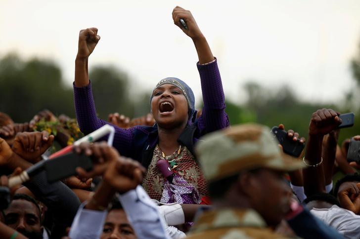 Ethiopia blames foreigners for unrest, U N  experts seek
