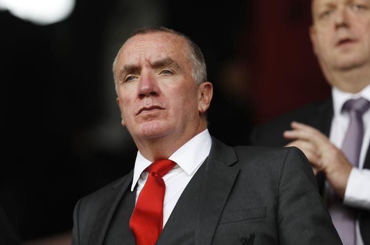 Britain Soccer Football - Burnley v Liverpool - Premier League - Turf Moor - 20/8/16Liverpool chief executive Ian Ayre in the stands before the matchAction Images via Reuters / Lee SmithLivepic/files.