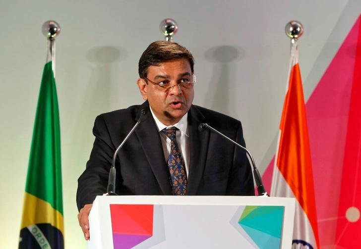 The Reserve Bank of India (RBI) Governor Urjit Patel addresses a gathering at a seminar in Mumbai, October 13, 2016. REUTERS/Shailesh Andrade
