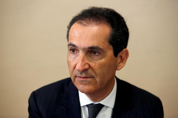 Patrick Drahi, Franco-Israeli businessman and Executive Chairman of cable and mobile telecoms company Altice, attends a hearing at the French Senate in Paris, France, June 8, 2016. REUTERS/Philippe Wojazer