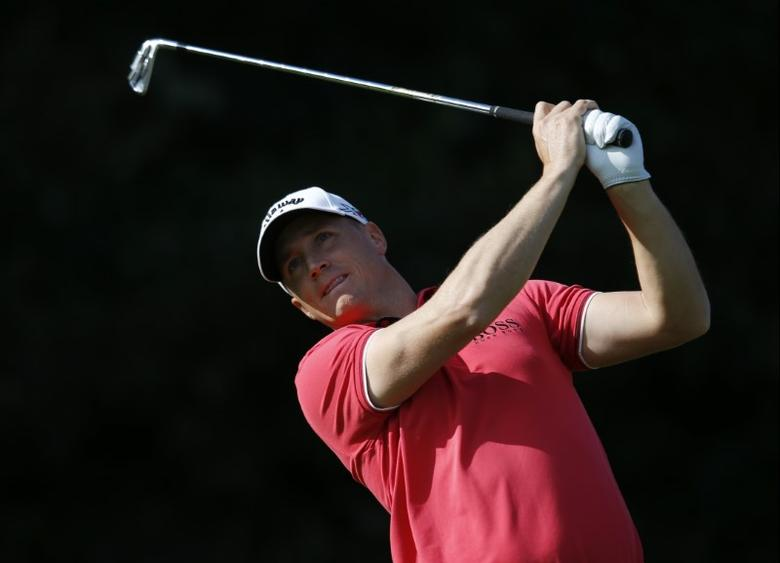 Britain Golf - British Masters - The Grove, Hertfordshire - 15/10/16Sweden's Alex Noren in action during the third roundAction Images via Reuters / Paul ChildsLivepicEDITORIAL USE ONLY.