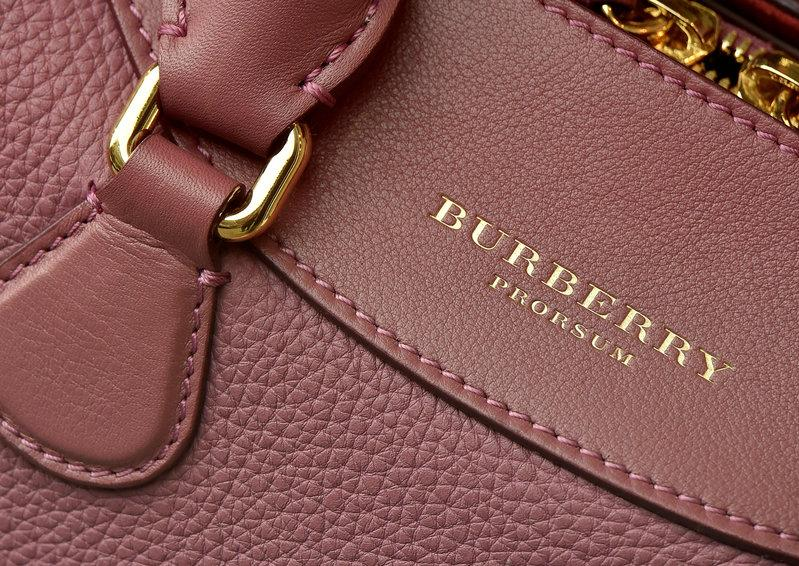 1dc28fcd866d A detail of a handbag is seen at a Burberry store in central London