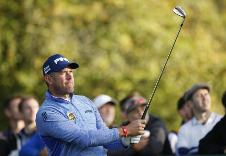 Britain Golf - British Masters - The Grove, Hertfordshire - 16/10/16England's Lee Westwood in action during the final roundAction Images via Reuters / Paul Childs