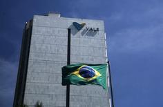 La sede de la brasileña Vale en el centro de Río de Janeiro. 15 de diciembre de 2014. La minera brasileña Vale SA recortó el jueves su previsión de producción de mineral de hierro en 2017, porque continuará reduciendo gradualmente los elevados costos de producción ante los precios más bajos de la materia prima. REUTERS/Pilar Olivares
