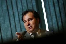 Presidente da Câmara dos Deputados, Rodrigo Maia, durante entrevista à Reuters, em Brasília 04/08/2016 REUTERS/Adriano Machado
