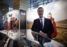 President and CEO Donald R. Lindsay of Teck Resources Ltd. is pictured after the company's AGM in Vancouver, British Columbia April 25, 2012. REUTERS/Ben Nelms