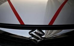 Suzuki Motor a annoncé vendredi un relèvement inattendu de son objectif annuel de bénéfice d'exploitation après des résultats trimestriels supérieurs aux attentes grâce à la hausse de ses ventes en Inde et en Europe. /Photo d'archives/REUTERS/Anindito Mukherjee