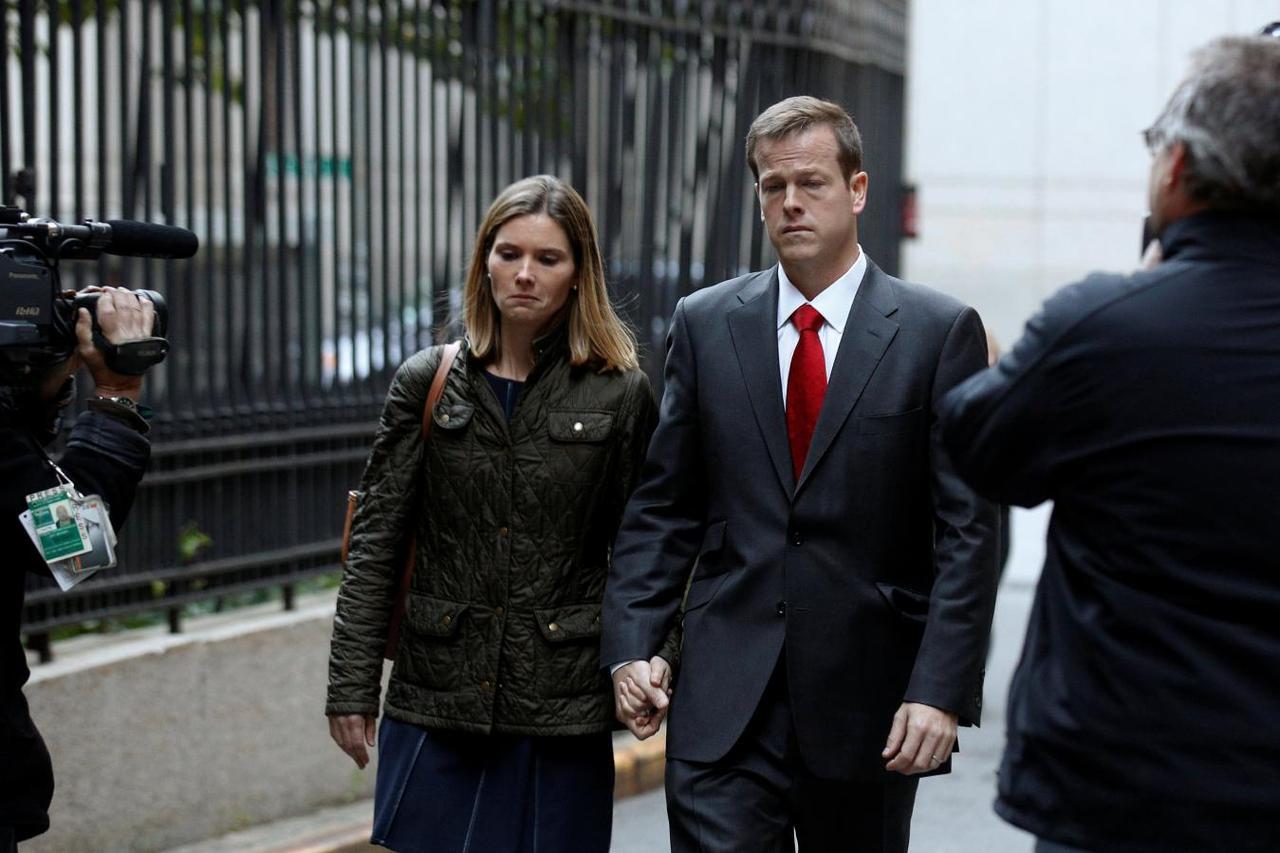 Wall Street scion Caspersen gets 4 years in prison for $38 5