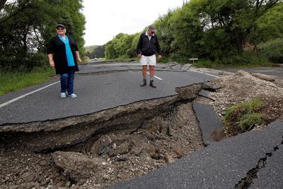 Major quake hits New Zealand