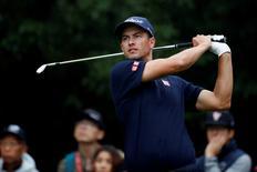 Golf - WGC-HSBC Champions Golf Tournament  - Shanghai, China - 27/10/16. Adam Scott of Australia in action. REUTERS/Aly Song