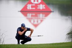 Golf - WGC-HSBC Champions Golf Tournament  - Shanghai, China - 27/10/16. Henrik Stenson of Sweden in action. REUTERS/Aly Song - RTX2QNHF