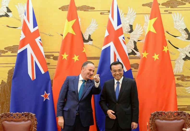 China New Zealand Launch Talks To Upgrade Free Trade Pact