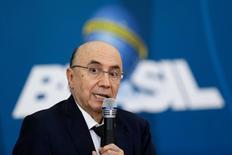 Ministro da Fazenda, Henrique Meirelles, no Palácio do Planalto em Brasília. 21/12/2016 REUTERS/Ueslei Marcelino