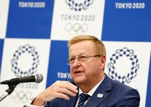 John Coates speaks during a news conference in Tokyo, Japan, May 26, 2016. REUTERS/Thomas Peter   Picture Supplied by Action Images