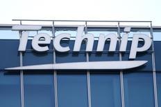 Correction titre. /Technip a enregistré la plus forte hausse du CAC 40 avec un gain de 5,37%. L'indice CAC 40 a terminé en hausse de 0,59% à 4.578,34 points, dopé par l'envolée des cours du pétrole avec l'accord conclu à l'Opep pour encadrer la production afin de soutenir les prix du brut. /Photo d'archives/REUTERS/Charles Platiau