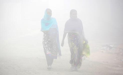 Smog to fog: December arrives in Delhi