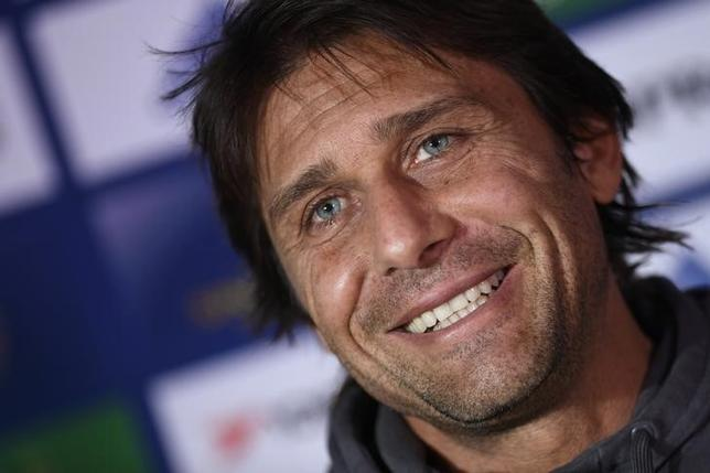 Britain Football Soccer - Chelsea - Antonio Conte Press Conference - Stamford Bridge - 2/12/16 Chelsea manager Antonio Conte during the Press Conference Action Images via Reuters / Tony O'Brien Livepic
