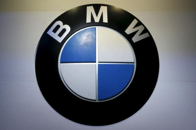 The logo of BMW is pictured at at the 37th Bangkok International Motor Show in Bangkok, Thailand, March 22, 2016.  REUTERS/Chaiwat Subprasom/File Photo
