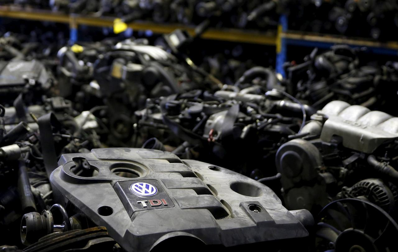 Volkswagen Tdi Sel Engines Are Seen In This Photo Ilration Of Second Hand Car Parts Jelah Bosnia And Herzegovina September 26 2017