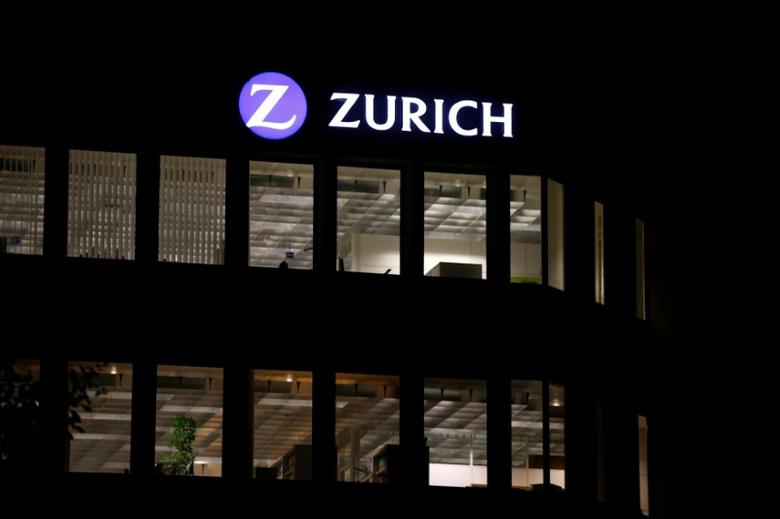 The logo of Zurich Insurance Group is seen at the company's headquarters in Zurich, Switzerland September 2, 2013. REUTERS/Arnd Wiegmann/File Photo