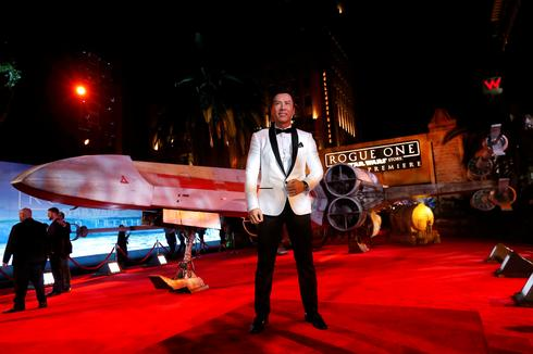 Star Wars' Rogue One premiere