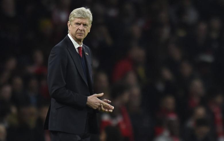 Football Soccer Britain - Arsenal v Stoke City - Premier League - Emirates Stadium - 10/12/16 Arsenal manager Arsene Wenger  Reuters / Clodagh Kilcoyne Livepic