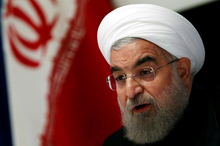 Iranian President Hassan Rouhani takes part in a news conference near the United Nations General Assembly in the Manhattan borough of New York, U.S., September 22, 2016. REUTERS/Lucas Jackson/File Photo