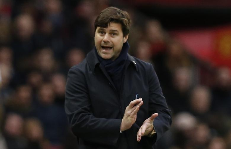 Tottenham manager Mauricio Pochettino. Manchester United v Tottenham Hotspur - Premier League - Old Trafford - 11/12/16. Reuters / Andrew Yates Livepic