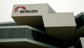 A general view shows Swiss biotech group Actelion Headquarters in Allschwil, Switzerland, February 17, 2015.    REUTERS/Arnd Wiegmann/File Photo