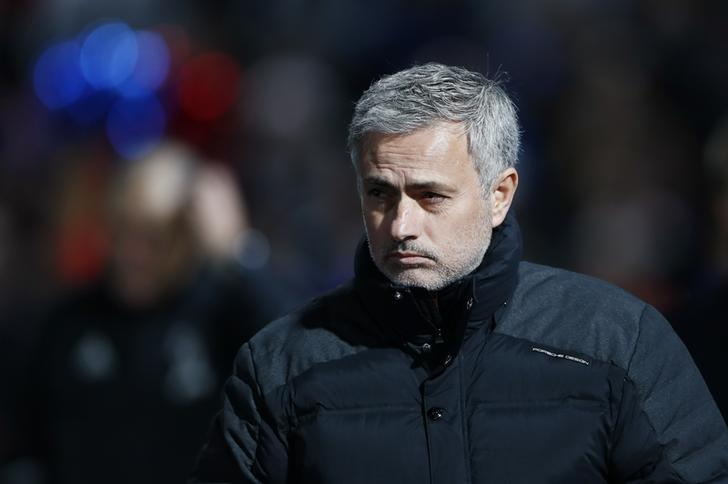 Britain Football Soccer - Crystal Palace v Manchester United - Premier League - Selhurst Park - 14/12/16 Manchester United manager Jose Mourinho Reuters / Stefan Wermuth Livepic