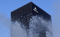 Areva a annoncé jeudi avoir reçu des offres fermes d'investisseurs qui proposent 500 millions d'euros pour acquérir 10% du capital de NewCo, le 'nouvel Areva' recentré sur le combustible nucléaire. /Photo d'archives/REUTERS/Jacky Naegelen