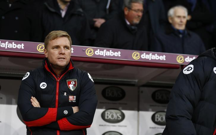 Football Soccer Britain - Burnley v AFC Bournemouth - Premier League - Turf Moor - 10/12/16 Bournemouth manager Eddie Howe  Action Images via Reuters / Jason Cairnduff/ Livepic/ Files