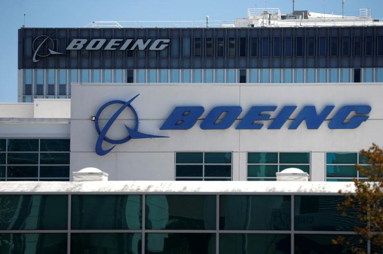 Boeing facilities are seen in Los Angeles, California, U.S. April 22, 2016. REUTERS/Lucy Nicholson/File Photo