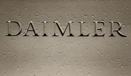Daimler ne s'attend pas à ce que Donald Trump cherche à favoriser les constructeurs automobiles américains aux dépens de leurs concurrents européens, déclare Dieter Zetsche, le président du directoire du groupe allemand. /Photo d'archives/REUTERS/Michaela Rehle