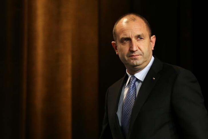 Presidential candidate of the Bulgarian Socialist Party Rumen Radev arrives for a news conference in Sofia, Bulgaria, November 13, 2016. Reuters/Marko Djurica/File Photo
