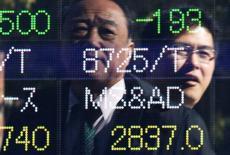 La Bourse de Tokyo a fini jeudi en baisse de 0,09%, l'indice Nikkei ayant terminé à 19.427,67. /Photo d'archives/REUTERS/Issei Kato